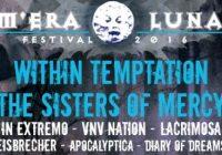 M'ERA LUNA FESTIVAL, August 13-14th 2016, Hildesheim, Germany