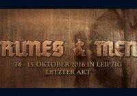 Runes & Men Festival, 14-15 October, Leipzig, Germany