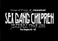 Sex Gang Children JEZEBEL tour 2016