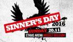 SINNER'S DAY 2016 – 20.11.2016, Hasselt, Belgium