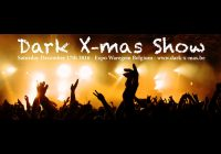 Dark X-mas Show, Saturday 17/12/2016, Expo Waregem, Belgium