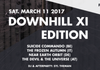 DownHill XI Edition / March.11.2017 / PP. Volt Sittard [NL]