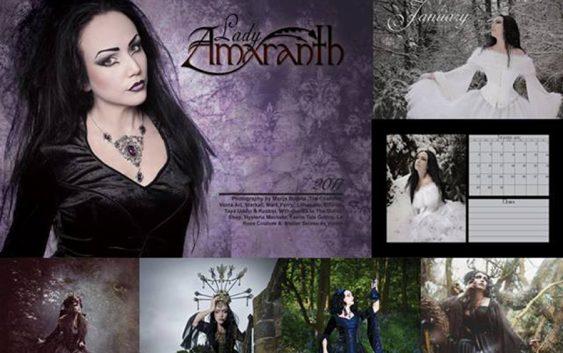 Lady Amaranth's desk calendar is out now!