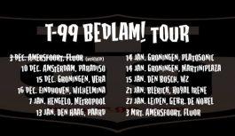 """T-99 """"Bedlam!"""" album and tour"""