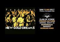 NEW GOLD DREAMS FESTIVAL, 13/5/2017, CHATEAU DE BOURGOGNE, ESTAIMBOURG (BELGIUM)