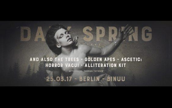 Dark Spring Festival, 25/3/2017, Berlin