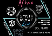 Synth Wave Live Artefaktor Anniversary, 1 April 2017, London