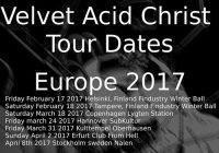 Velvet Acid Christ announces European Tour Dates