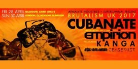 "Cubanate announce ""Brutalism"" retrospective album and UK live shows"