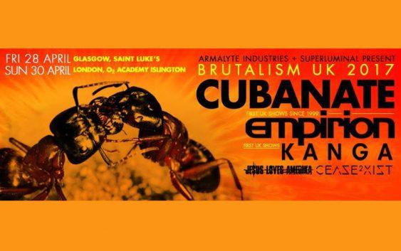"Cubanate announce ""Brutalism"" retrospective album and UK live shows"
