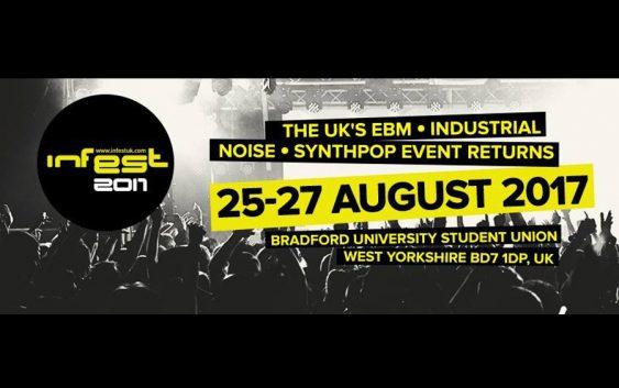 Infest Festival 2017, 25-27 August, Bradford, UK