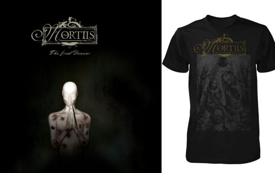 "Mortiis giveaway: 3 signed ""The Great Deceiver"" CDs + 3 Mortiis ""Zombified"" t-shirts"