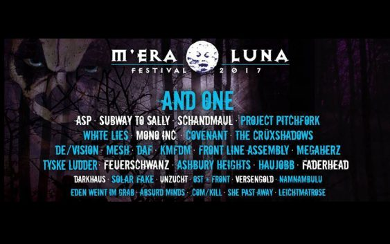 M'ERA LUNA FESTIVAL, August 12-13th 2017, Hildesheim, Germany