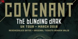 "Covenant ""The Blinding Dark"" UK tour 2018"