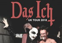 "Das Ich ""The Masters Of Macabre"" UK tour 2018"