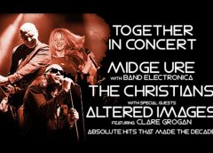 Midge Ure's Band Electronica + The Christians + Altered Images featuring Clare Grogan – 2017 UK tour