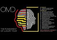 """OMD """"The Punishment of Luxury"""" UK Tour 2017"""