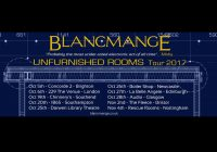 "BLANCMANGE ""Unfurnished Rooms"" Tour 2017"
