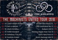 Die Krupps new single and tour!