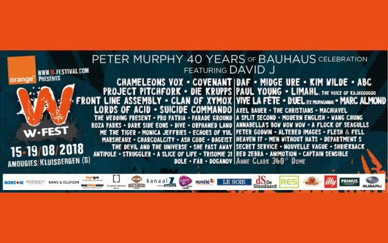 W-Festival 2018: 15-19 August 2018, Amougies (Kluisbergen), Belgium