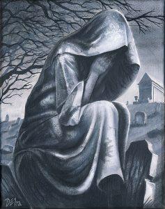 Cemetery Statue I