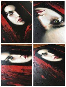 Oils and Acrylic paint