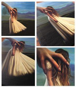 Weak - oil painting