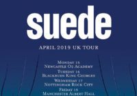 Suede announces April 2019 UK tour