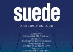 Suede announces April 2019 UK tour