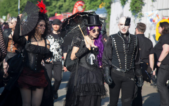 28th Wave-Gotik-Treffen, June 7 to 10, 2019, Leipzig, Germany