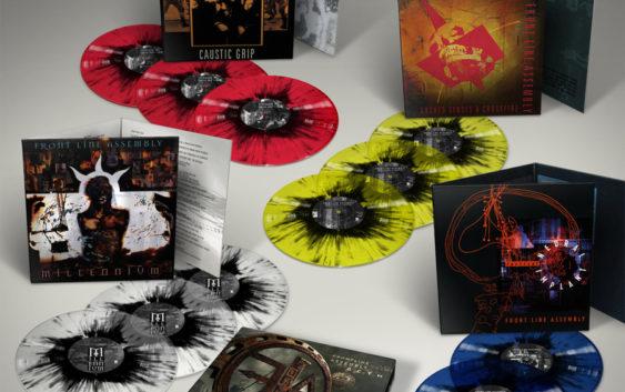 FRONT LINE ASSEMBLY announces 12 LP Roadrunner Boxset!