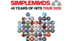 "Simple Minds ""40 Years of Hits"" Tour 2020"