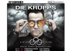 """Die Krupps """"Vision 2020 Vision"""" 2019 European tour"""