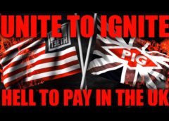 """""""HELL TO PAY IN THE UK"""" ON TOUR WITH 3TEETH, FEBRUARY 2020"""