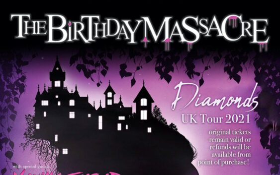 "The Birthday Massacre ""Diamonds"" UK Tour 2021"
