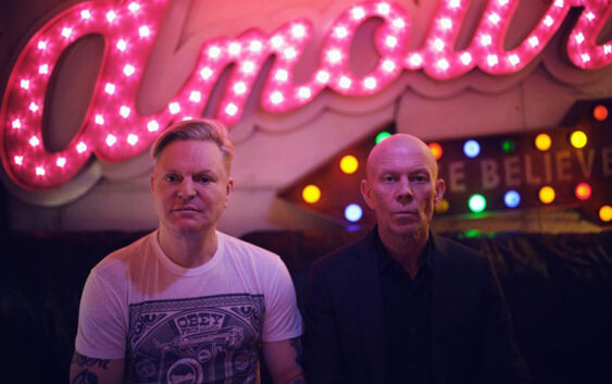 "Erasure share new single and video ""Nerves of Steel"""